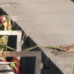 Puente de la calle Juárez en ruinas