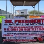 Toman taxistas oficinas del Sistema Municipal de Transporte de Mexicali