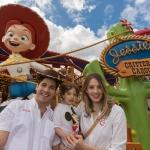 Julio de Reik disfrutó de Disneyland en familia.