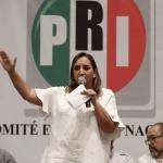 Respalda Ruiz Massieu las candidaturas del tricolor en BC