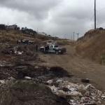 Fueron localizados tres cuerpos sin vida abandonados en un basurero clandestino del Ejido Matamoros