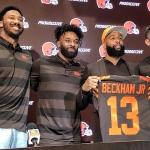 Browns presentan a Odell Beckham Jr. en offseason