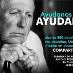 Te invitamos a ayudar a más de 200 abuelitos.