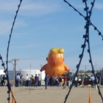 Fuerte operativo de seguridad por la visita de Trump a Calexico