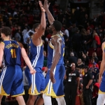 Warriors a un juego de la final