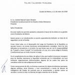 Revela AMLO carta de Calderón: Pido seguridad, estoy a su disposición