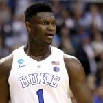 """Zion """"alentaba"""" a Knicks tener 1era selección del Draft"""