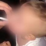 Madre da de fumar a su bebé de 11 meses y lo publica en redes