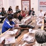 Ofrece Bonilla solución en zonas de deslaves