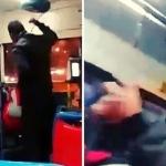 Pasajero golpea a chófer porque no se detuvo donde él quería