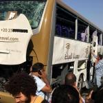 Al menos 17 heridos tras una explosión junto a un autobús de turistas en Egipto