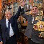 AMLO pide a Andy Ruiz Jr. ser embajador de México