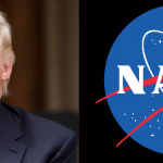 Afirma Trump que la Luna es parte de Marte