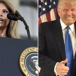 Trump designa a la vocera de Melania como la nueva secretaria de Prensa de la Casa Blanca