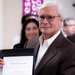 Recibe Jaime Bonilla la constancia que lo acredita como ganador de la gubernatura de BC