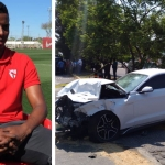 Revelan video del accidente de Joao Maleck