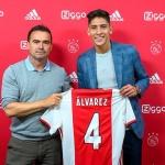 Edson Álvarez fue presentado por el Ajax