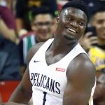 Zion Williamson es el 2do jugador más pesado en la NBA