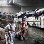 Accidente de autobús deja 29 muertos y 17 lesionados en India