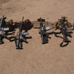 Aseguran arsenal de armas de grueso calibre en Ensenada