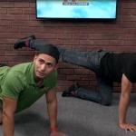 Sesión entrenamiento cardio en casa por Symmetry Gym