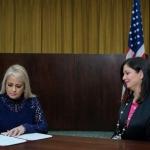 Wanda Vázquez se convierte en gobernadora de Puerto Rico