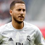 Real Madrid confirmó lesión del delantero Eden Hazard
