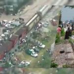 Pobladores roban cargamento de azúcar de un tren en Puebla