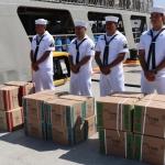 Llevan libros de texto gratuitos hasta Isla de Cedros