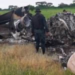 Mueren dos mexicanos en accidente de avioneta que transportaba cocaína en Guatemala
