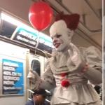 Pennywise invade Metro de Nueva York