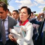 """Vinculan a proceso a Rosario Robles por """"La estafa maestra"""""""