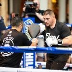 Andy Ruiz comienza entrenamiento en Guadalajara