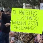 No cumplen con el pago a maestros en BC, continúan de paro y con manifestaciones en SEE