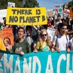 Activistas toman Washington para denunciar crisis climática