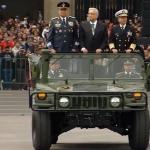 AMLO encabeza Desfile Militar en el Zócalo Capitalino