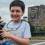 Niño genio denuncia acoso de maestros en la UNAM