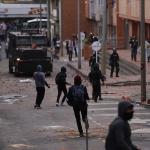 Disturbios de universitarios en Bogotá dejan cinco heridos