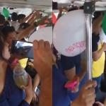 Cantan pasajeros 'El triste' de José José