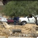 Encuentran cuerpo en vehículo abandonado en colonia Lomas Taurinas