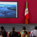 Presenta AMLO avances del Aeropuerto de Santa Lucía