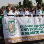 Exigen 35 mil universitarios que Gobierno del Estado salde deuda con UABC