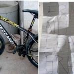 Roba una bici y la regresa con una carta pidiendo perdón