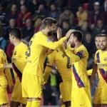 Barcelona vence en Praga al Slavia 2-1