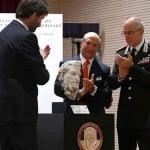 Embajador de EE.UU devuelve a Italia estatua robada en 1968