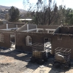 Como una lluvia de fuego experimentaron afectados por los incendios en Tecate
