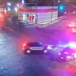 Se lesionan policía municipal y civil tras accidente vehicular