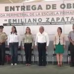 Confunde maestro juramento a la bandera de México con Padre Nuestro