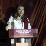 Toma protesta Marina del Pilar Ávila como presidenta municipal de Mexicali