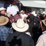 Protestan contra la Constellation Brands y toman Conagua